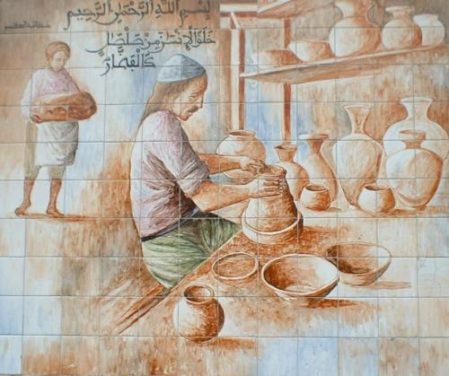 Cuadros Pintados En Ceramica