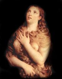 Detalle de una obra del artista Tiziano